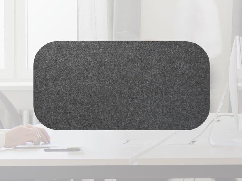 Pannello divisorio da scrivania fonoassorbente in lana WHISPERWOOL APPS | Pannello divisorio da scrivania by Tante Lotte