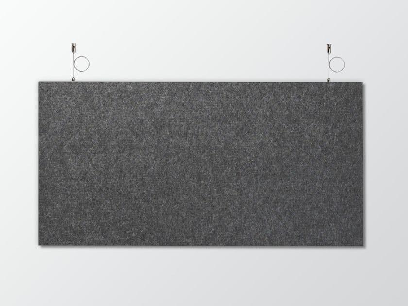 Pannello acustico a sospensione in lana WHISPERWOOL HÄNGEPANEELE by Tante Lotte