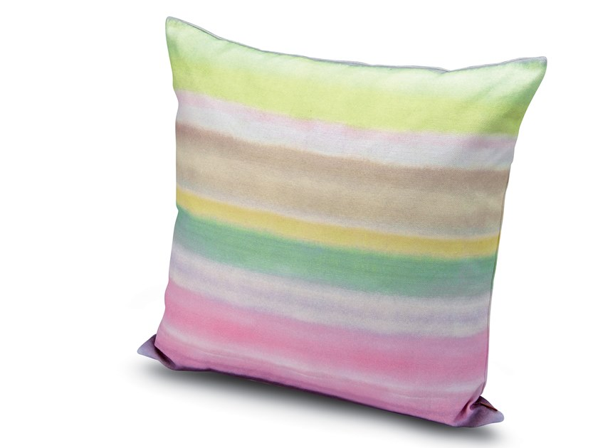 Striped linen cushion WHITBY   Cushion by MissoniHome