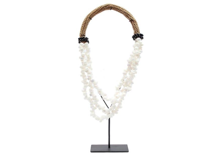 Metal decorative object WHITE & BLACK NECKLACE by Bazar Bizar