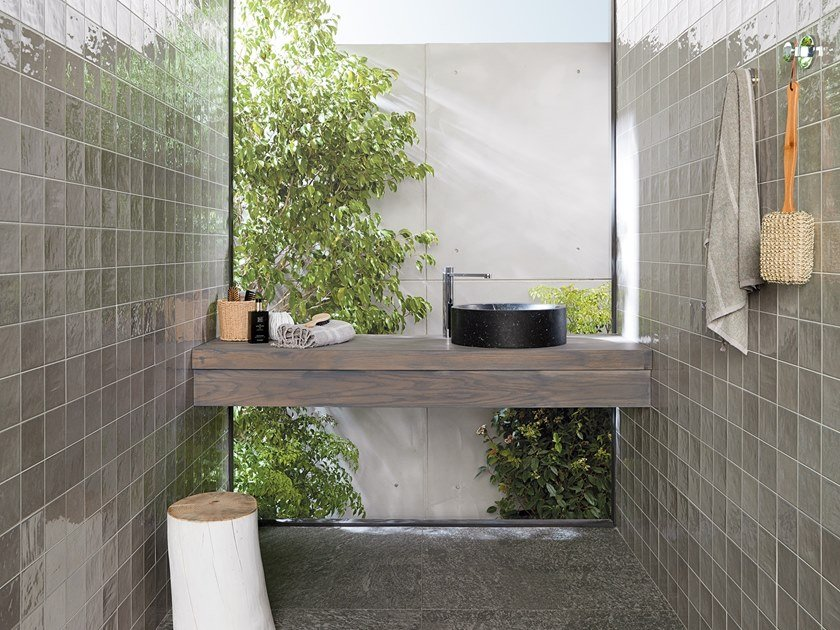 Wall Cladding WHITE & COLORS - RONDA GREY by Porcelanosa