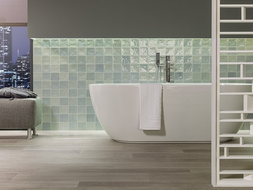 Wall Cladding WHITE & COLORS - RONDA MINT by Porcelanosa