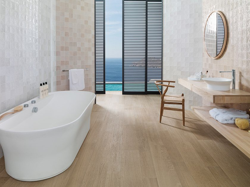 Wall Cladding WHITE & COLORS - RONDA SAND by Porcelanosa