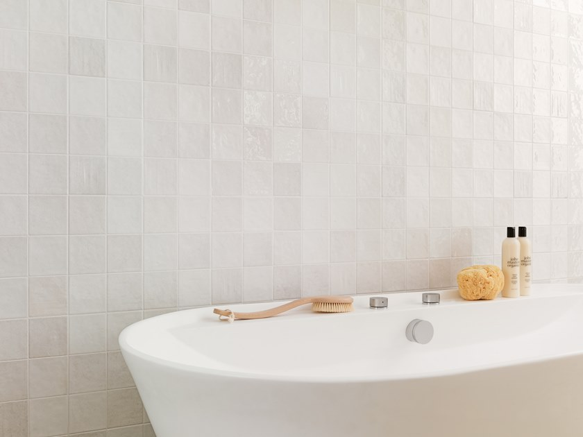 Wall Cladding WHITE & COLORS - RONDA WHITE by Porcelanosa