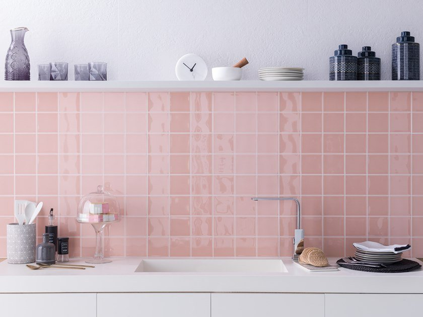Wall Cladding WHITE & COLORS - SEVILLA ROSE by Porcelanosa