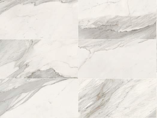 Rivestimento / pavimento in gres porcellanato a tutta massa WHITE EXPERIENCE Apuano by Italgraniti