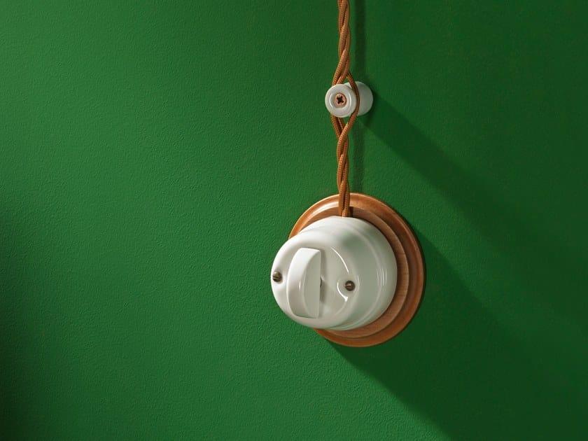 Electrical socket WHITE ITALY - 17 by GI Gambarelli