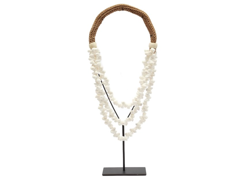 Metal decorative object WHITE NECKLACE by Bazar Bizar