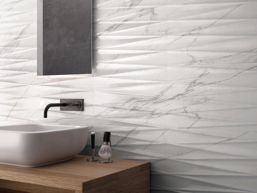 PURITY OF MARBLE | Rivestimento in ceramica a pasta bianca