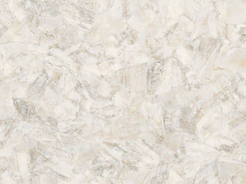 Pavimento/rivestimento in gres porcellanato effetto marmo WHITE QUARTZ by ARIOSTEA