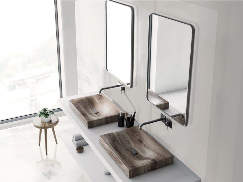 Pavimento/rivestimento in ceramica sinterizzata per interni WHITE by Arklam