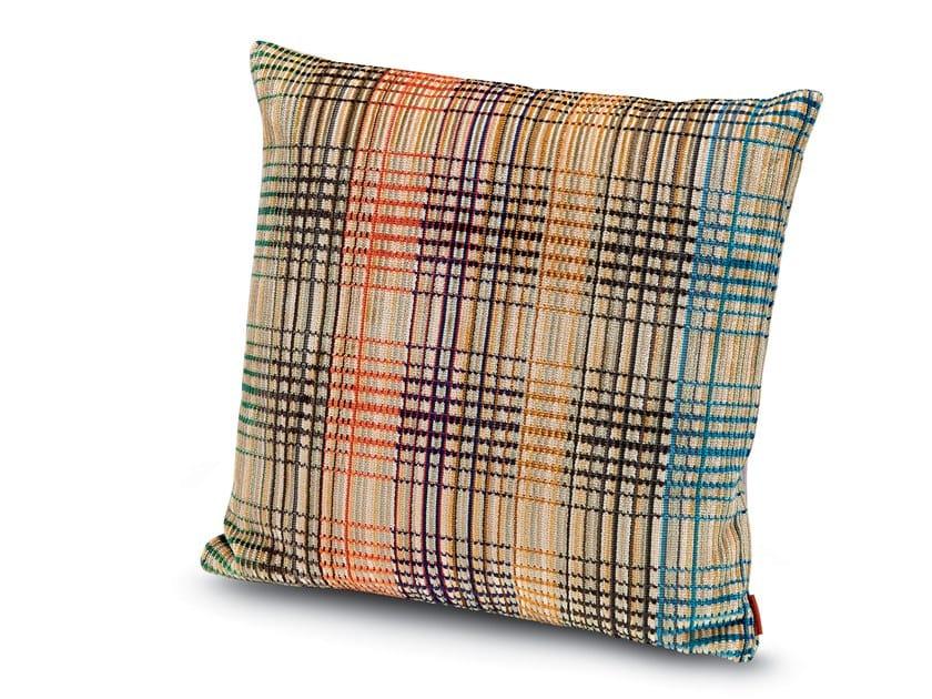 Cushion in viscose velvet WHITTIER | Cushion by MissoniHome