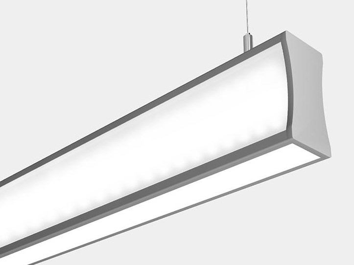 LED direct-indirect light pendant lamp WHY by ES-SYSTEM
