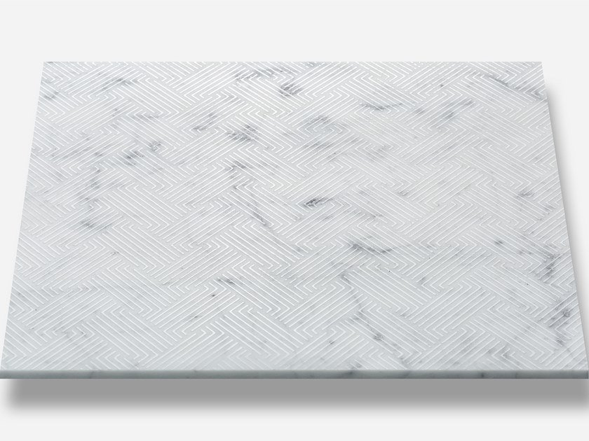Indoor marble wall tiles WICKER by AKDO