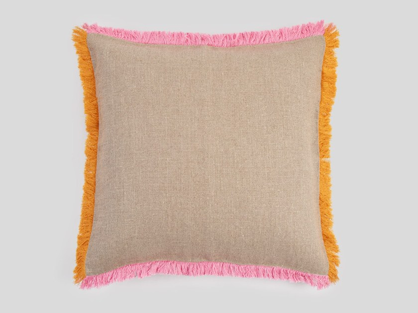 Hand embroidered cushion WIDCOMBE by Jupe by Jackie