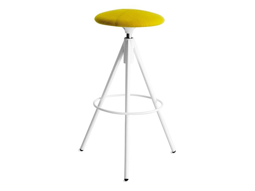 High swivel upholstered stool WIL   High stool by Lapalma