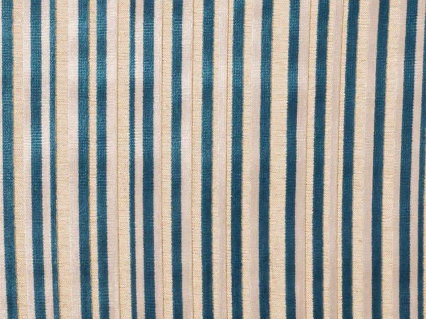 Tessuto a righe da tappezzeria in viscosa WIMBLEDON by Gancedo