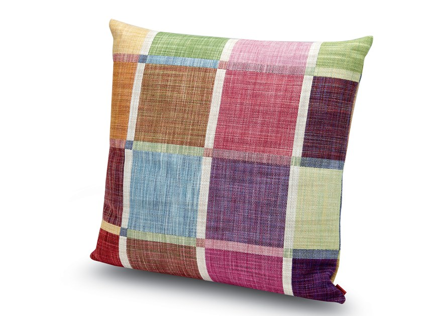 Cushion in jacquard fabric WINCHESTER | Cushion by MissoniHome
