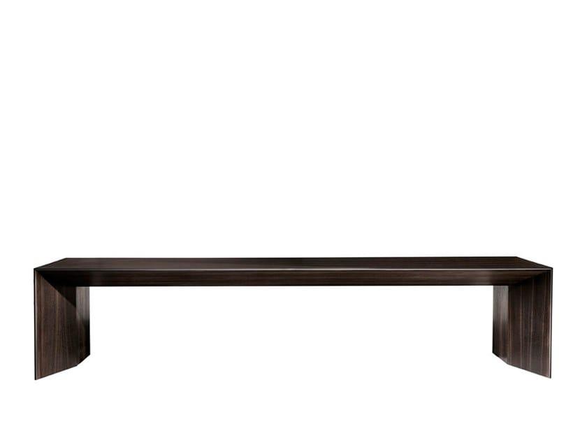 Wood veneer coffee table for living room WIND   Coffee table for living room by HC28