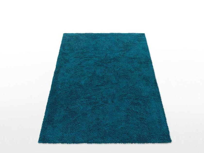 Solid-color rectangular rug WIND by paola lenti