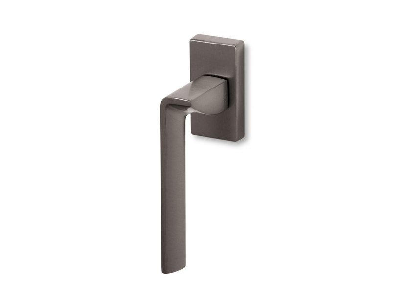 DK brass window handle EDGE SQ | Window handle by Ento