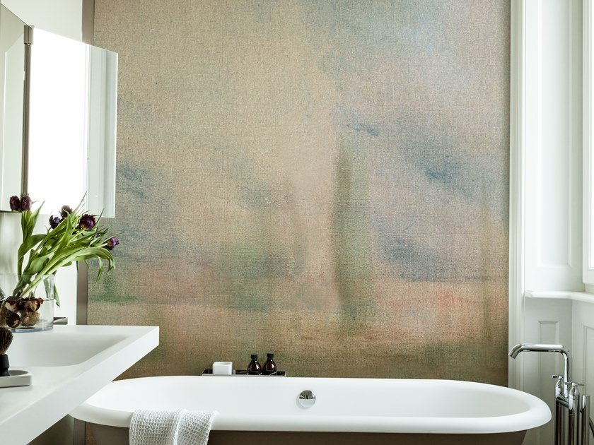 Bathroom wallpaper WINDY AFTERNOON by Wall&decò