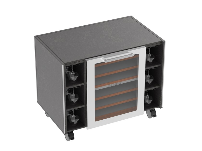 Wine cooler Wine cellar unit by La tavola