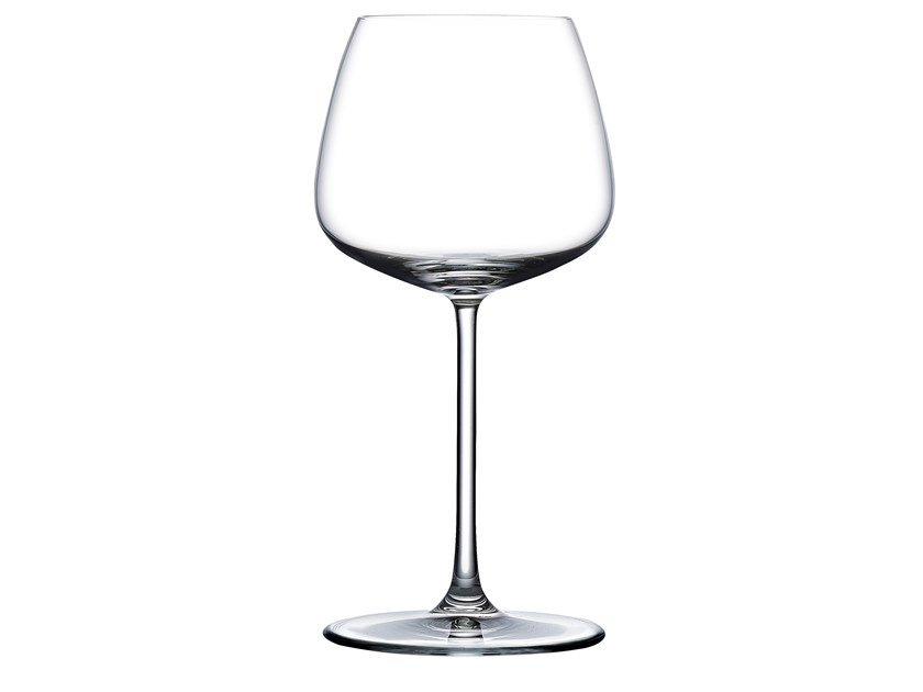 Set of 2 White Wine Glasses MIRAGE | Wine glass by NUDE