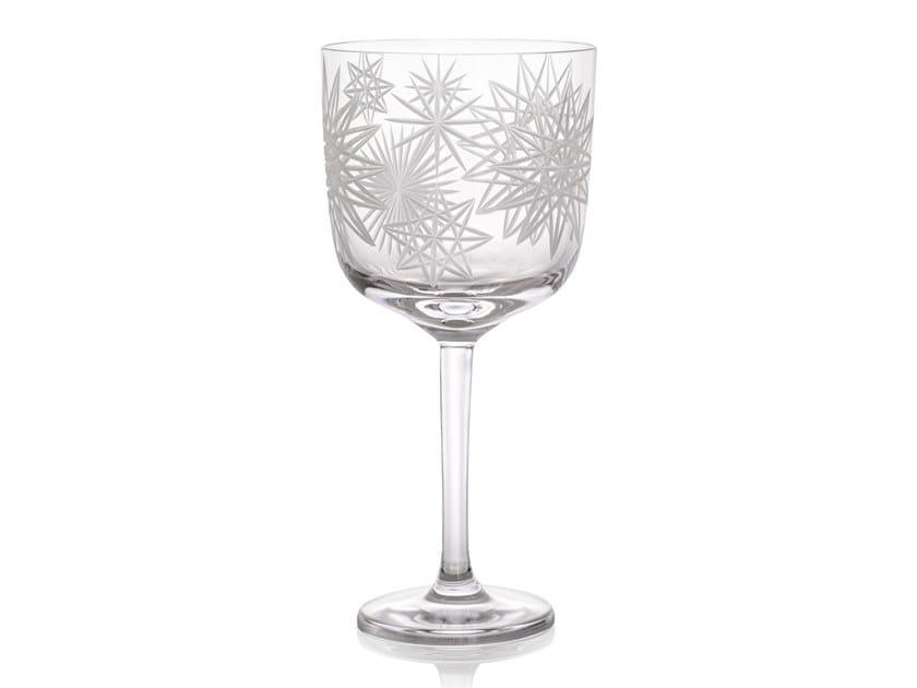 Crystal wine glass KRAKATIT | Wine glass by Rückl