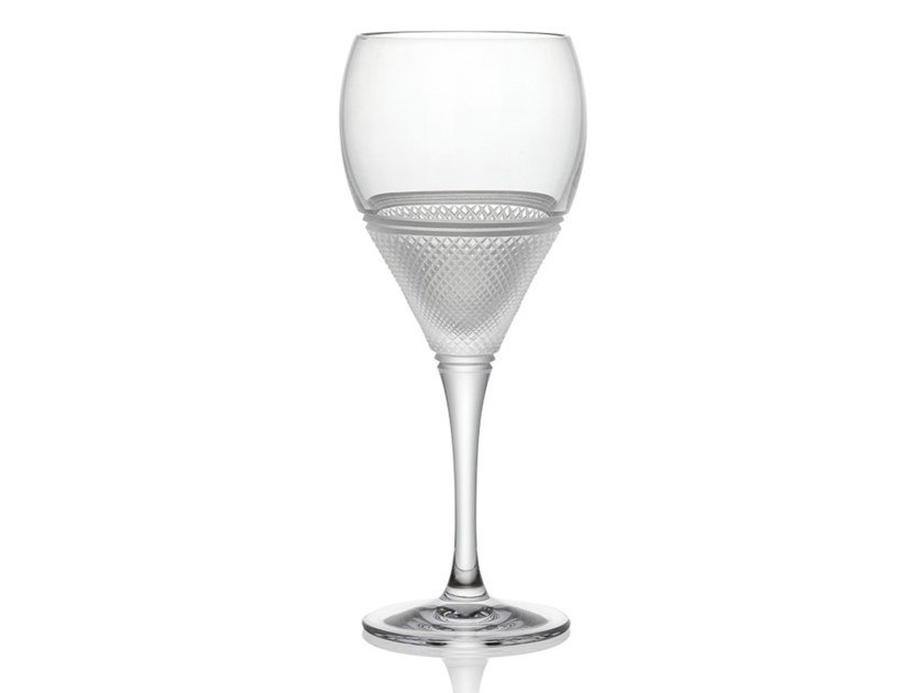 Crystal wine glass ELIZABETH | Wine glass by Rückl