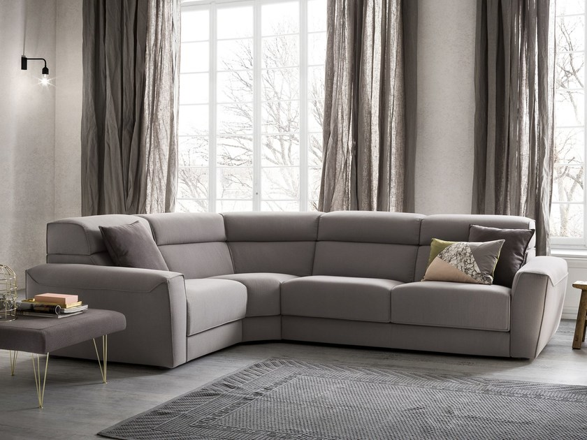 Corner fabric sofa WINSTON | Corner sofa by Felis