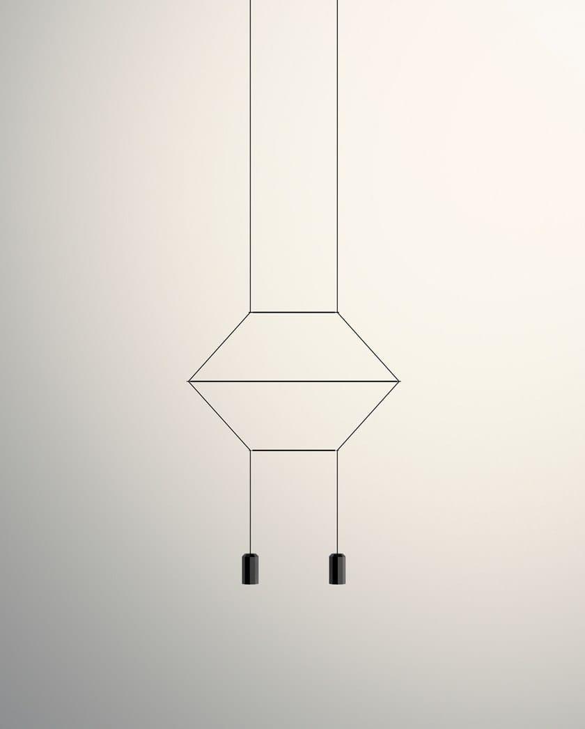 Wireflow Sospensione Led A Vibia Lampada Lineal deWoCrBx