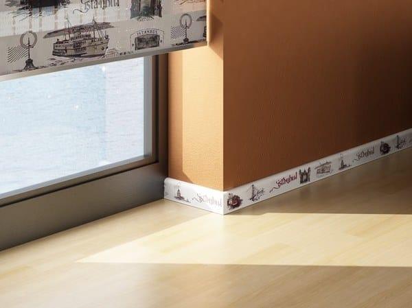 Aluminium Skirting board WISH by Mox Profile Systems