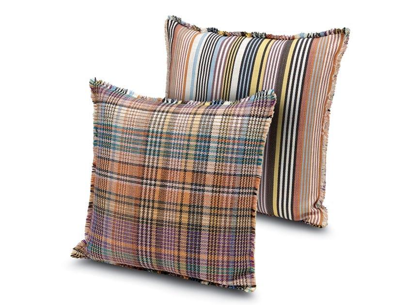 Cushion in reversible jacquard fabric WISMAR | Cushion by MissoniHome