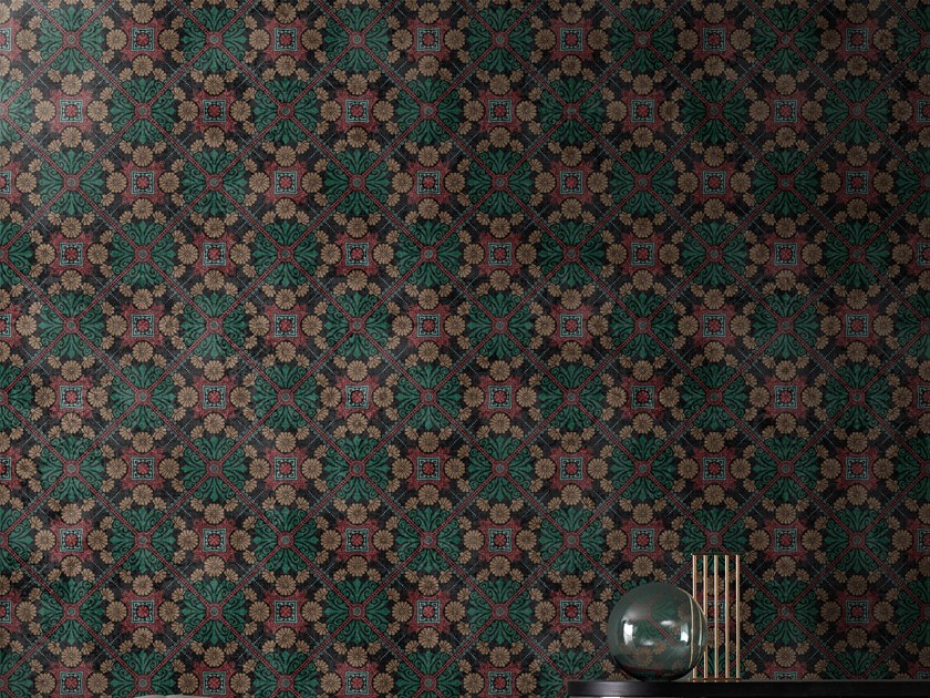 Motif wallpaper WITH A LITTLE HELP FROM MY FRIEND by Wall&decò