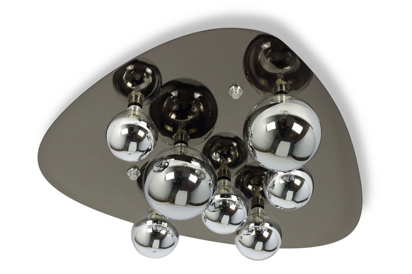 Metal ceiling light WLG1000 by Hind Rabii