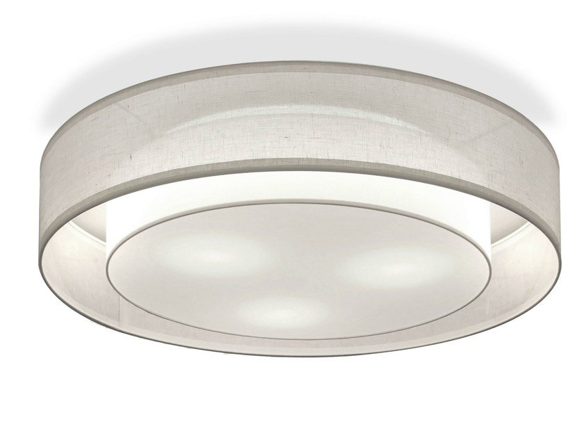 Indirect light fluorescent ceiling light WLG3000 by Hind Rabii