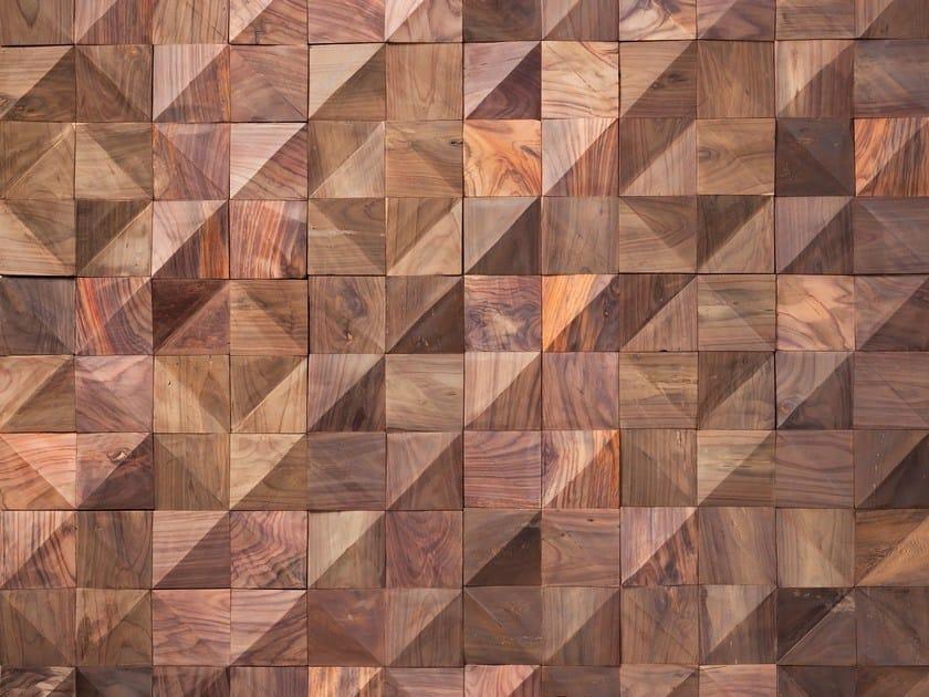 Wooden 3D Wall Cladding WOLF by Wonderwall Studios