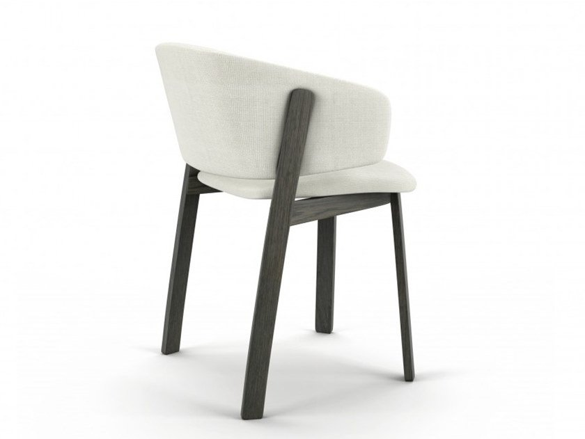 Oak chair with armrests WOLFGANG | Chair with armrests by Huppé