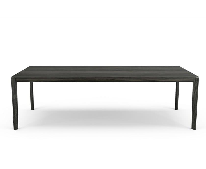 Rectangular oak table WOLFGANG | Table by Huppé