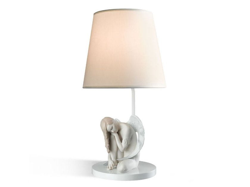 Porcelain table lamp WONDERFUL ANGEL by Lladró