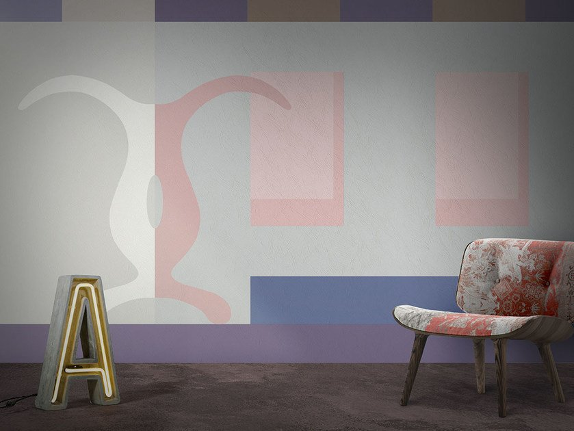 Vinyl or fyber glass wallpaper WONDERLOFT / CRO by N.O.W. Edizioni
