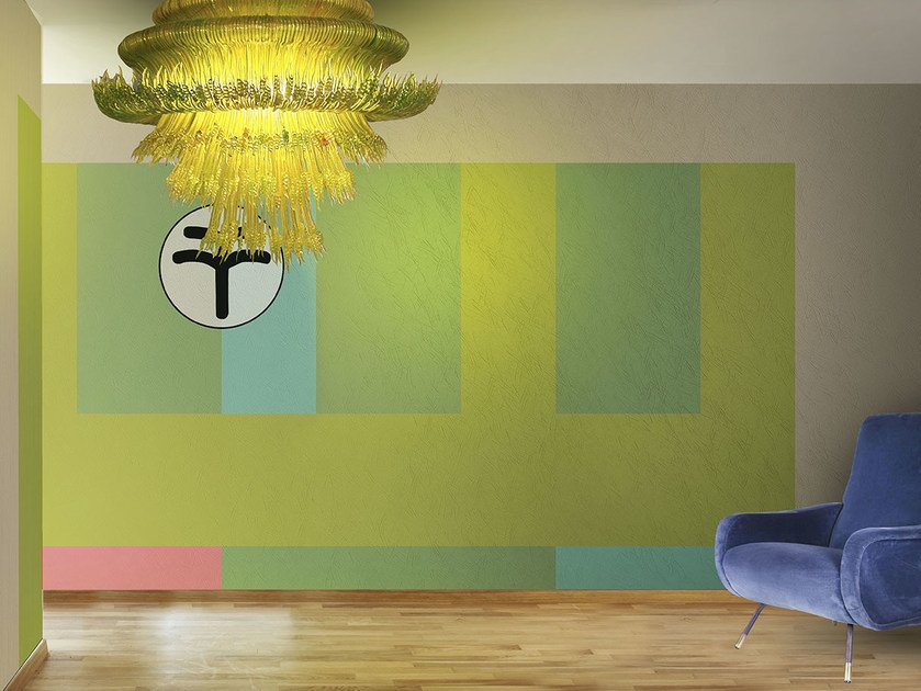 Vinyl or fyber glass wallpaper WONDERLOFT / TIGER by N.O.W. Edizioni