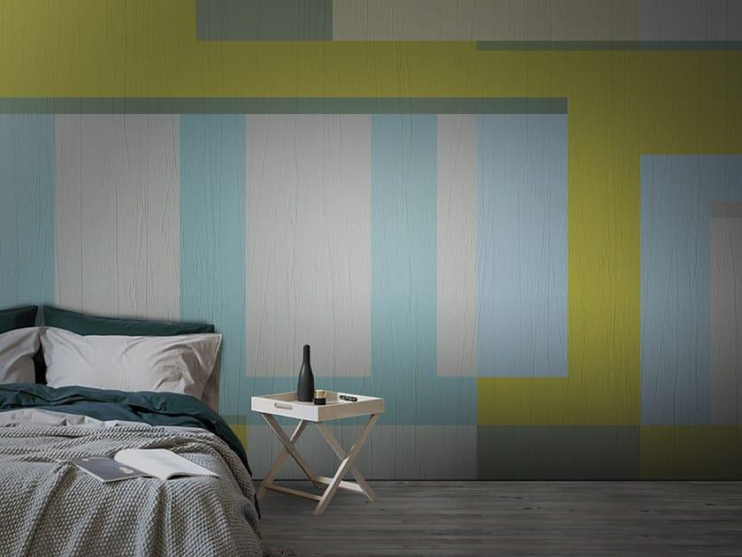 Washable panoramic vinyl wallpaper WONDERLOFT / WINDOW by N.O.W.  Edizioni