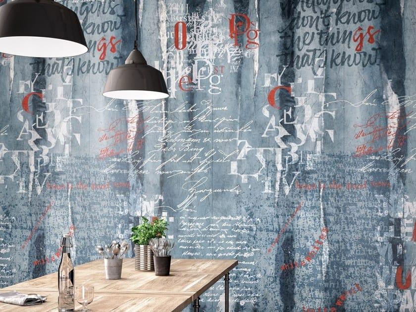 Kerlite Shop indoor porcelain stoneware wall tiles wonderwall script kerlite