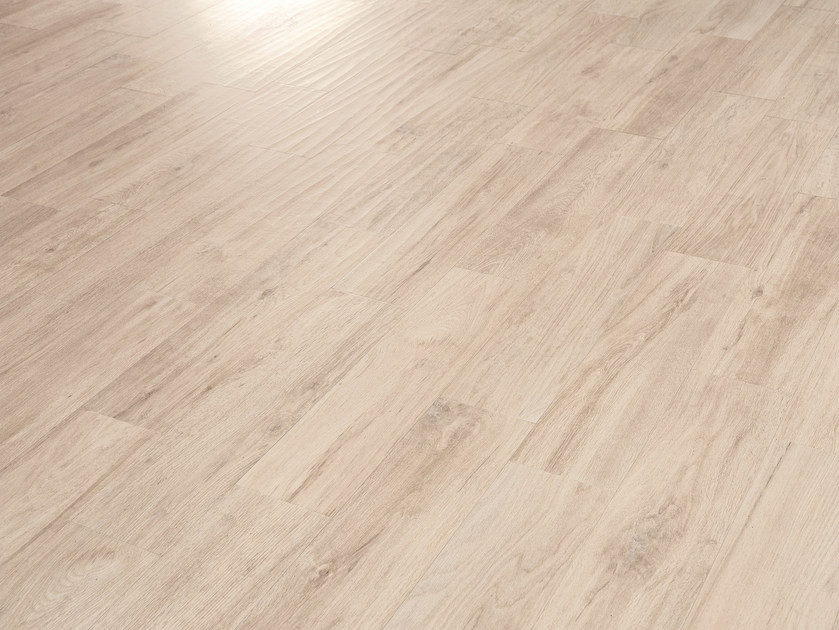 Porcelain stoneware wall/floor tiles with wood effect FUSION ZOE WHITE by EmilCeramica by Emilgroup
