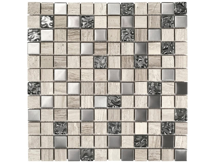 Marble mosaic WOOD STONE STYLE by BOXER