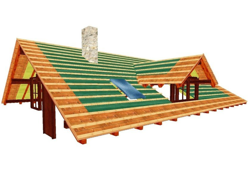 Timber roofs planning WoodCon A - Wooden roofs by SYSTEMS