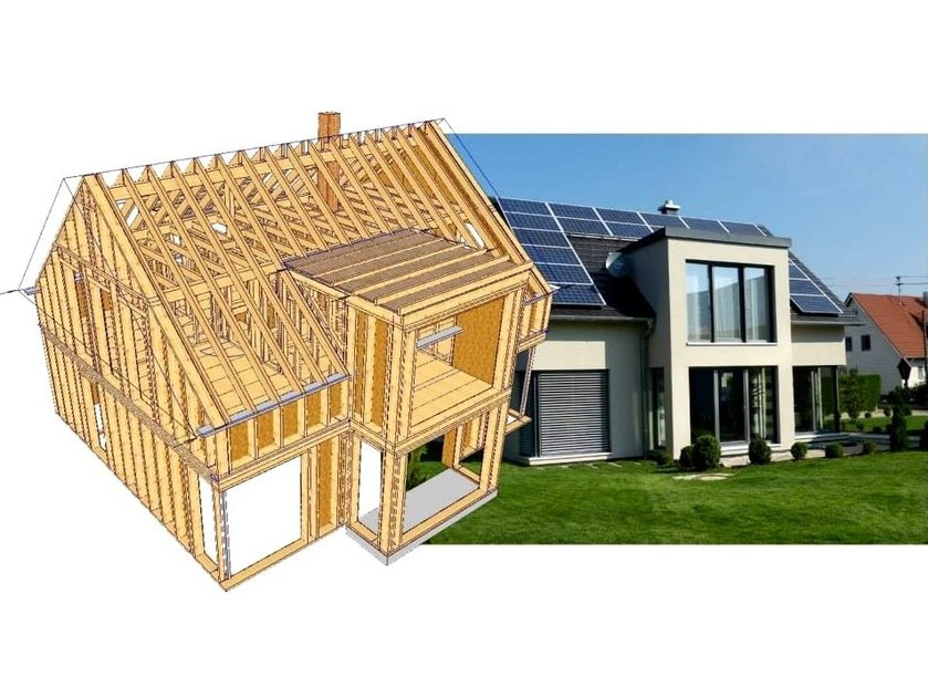 Structural calculation for timber WoodCon AB - Timber roofs and houses by SYSTEMS