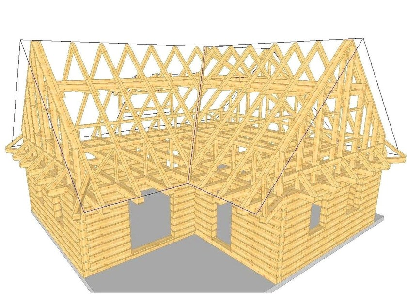 Structural calculation for timber WoodCon B - Timber houses by SYSTEMS